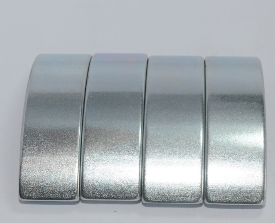 China Arc Neodymium Perment Magnets RoHS Certification