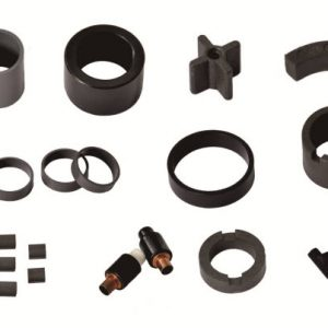 Complex Shaped Plastic Injection Bonded Ferrite Magnet