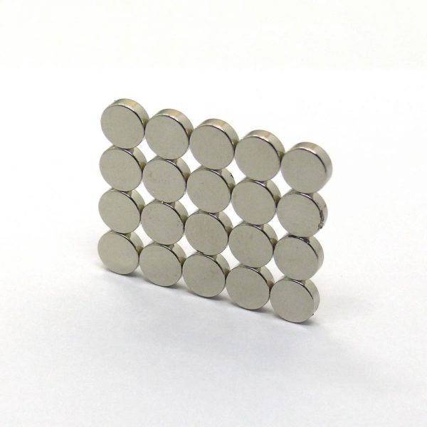 ISO/Ts 16949 Certificated Neodymium Small Disc Magnets