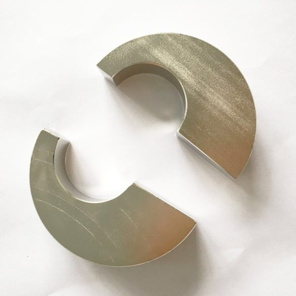 ISO/Ts 16949 Certificated Permanent Half Round Magnets