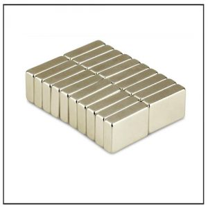 Strong Motor Industrial NdFeB Permanent Block Magnet