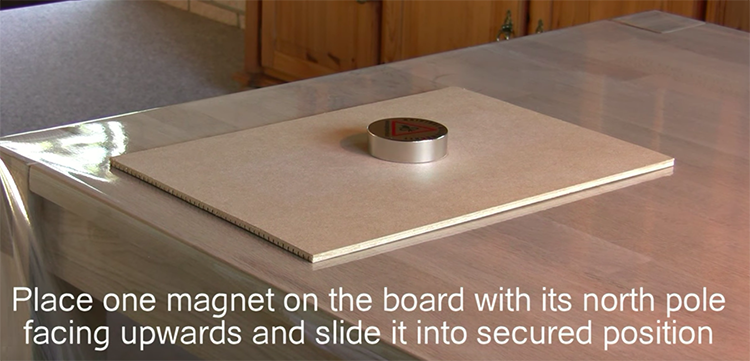 magnet and security board