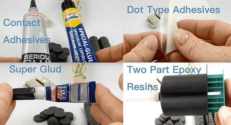 different type adhesives