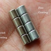 Coating Zine and Coating Nickel magnet