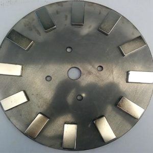 Wind turbine Magnet rotors